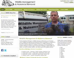 Wildlife Management & Nuisance Removal Northern Michigan